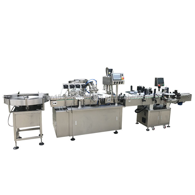 one stop solution filling capping and labeling machine shanghai manufacture