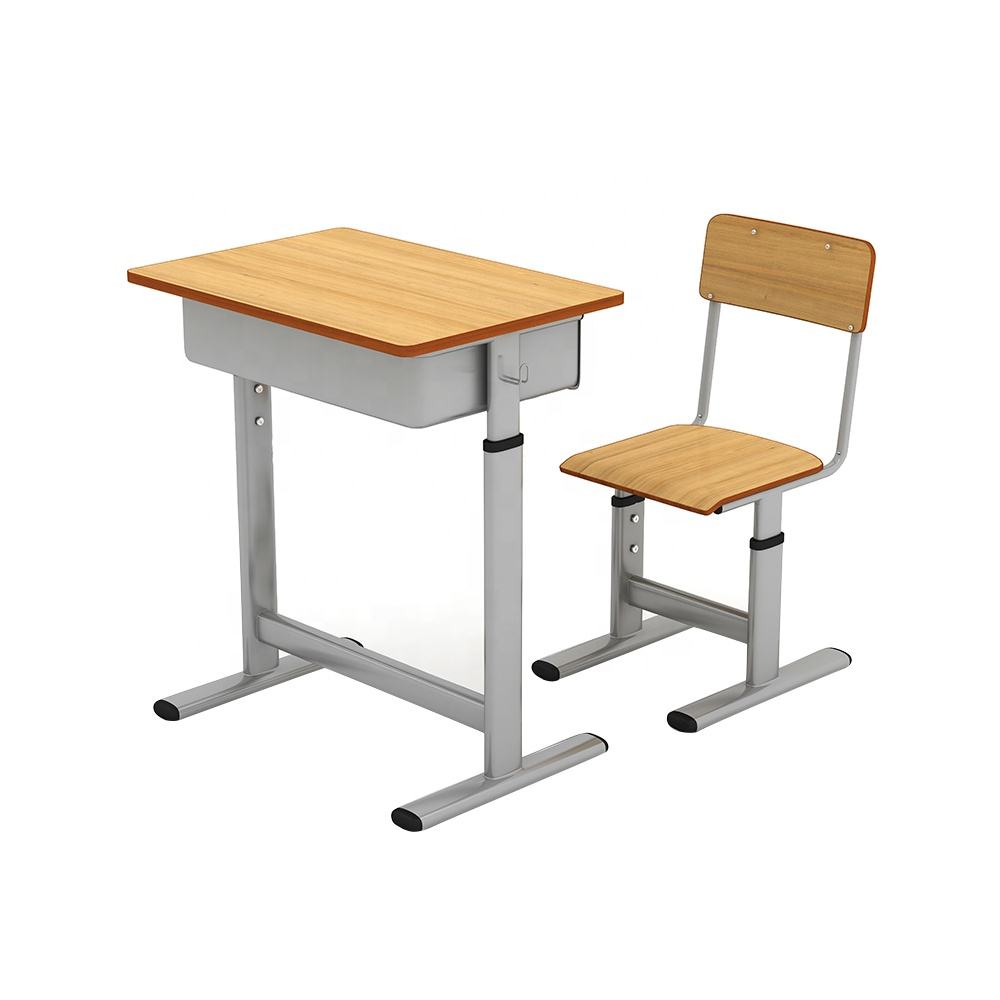 Cheap Price Height Adjustable school student School Desk Chair