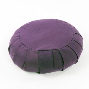 Best price 33*33*15cm organic buckwheat zafu meditation seat cushion