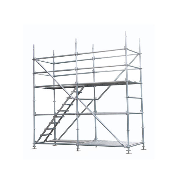 Galvanized Ringlock Scaffolding for Bridge, Factory in Guangzhou