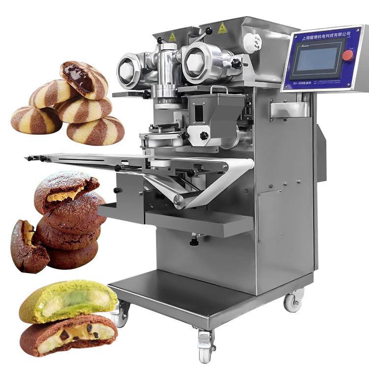 Factory Supplier Shanghai automatic chinese pastry machinery electric filled cookies maker