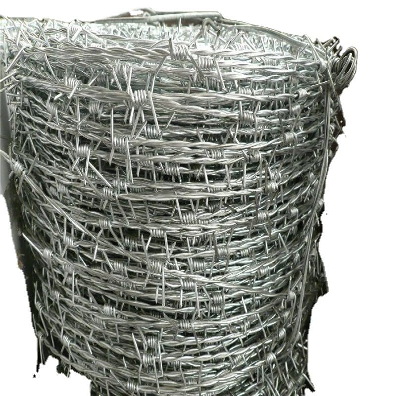 hot sale bulk barbed wire / used barb wire for sale / galvanized barbed wire (China manufacture)