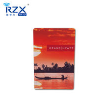 Customizable Size 13.56Mhz RFID NFC Smart Card For Access Control