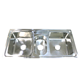 Stainless Steel Multifunction Triple Bowl Restaurant Kitchen Sink