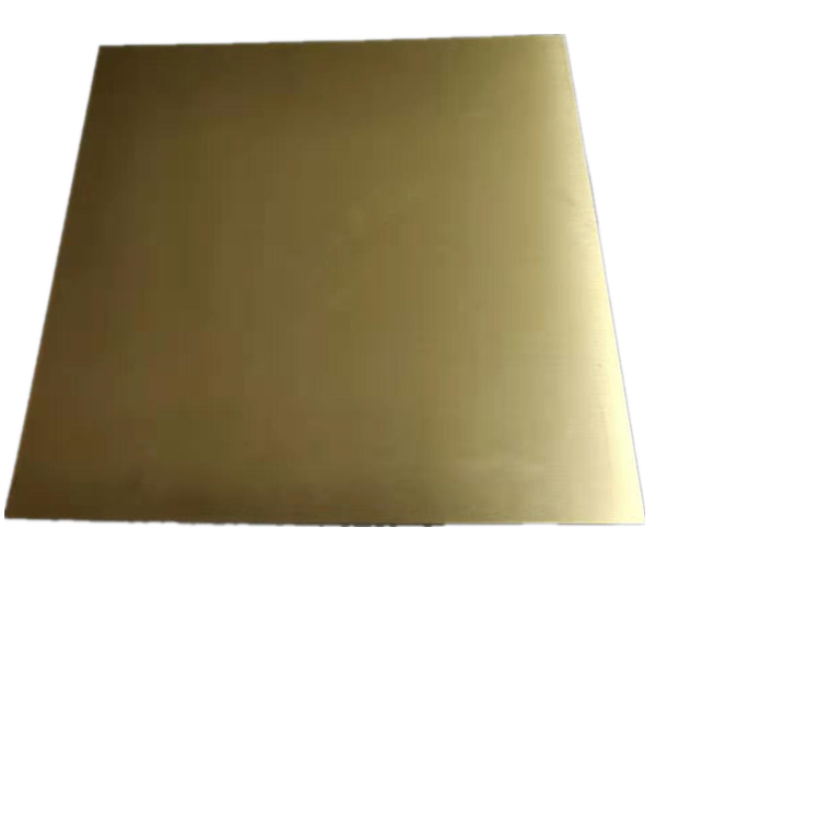 Customized 0.8mm 1mm 2mm 2.5mm 3mm 6mm thickness H62 H65 Brass sheet and Plate for Decorative