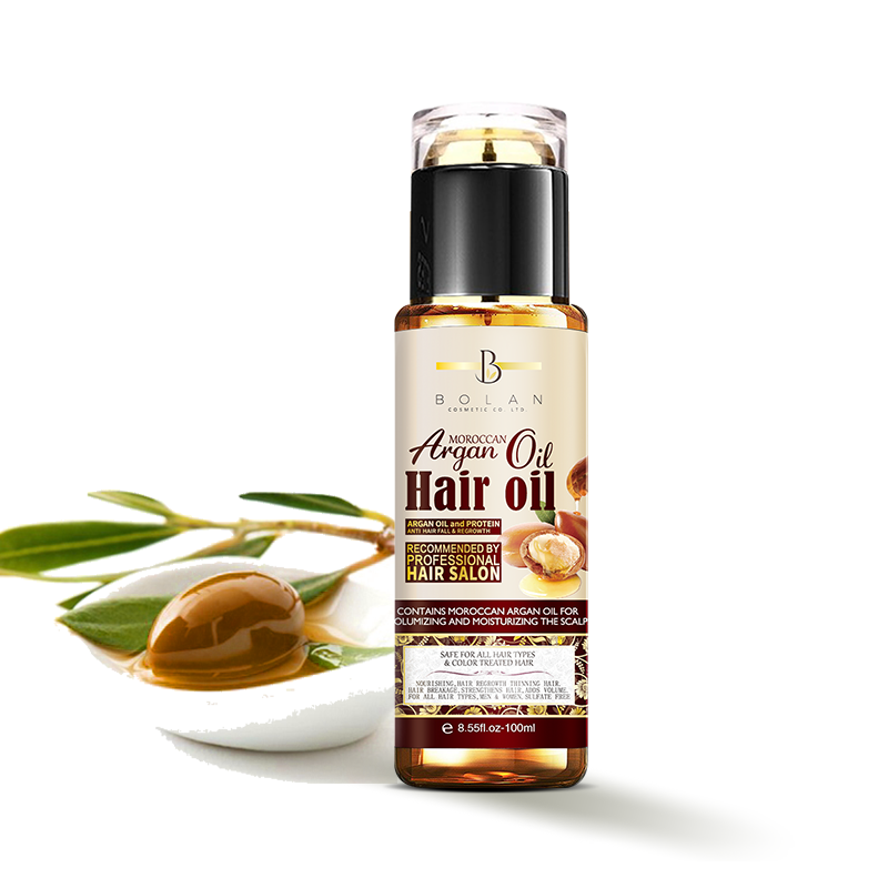 Oem Private Label Nourishing Morocco Repair Argan Smooth Miracle Hair Oil For Damaged Hair