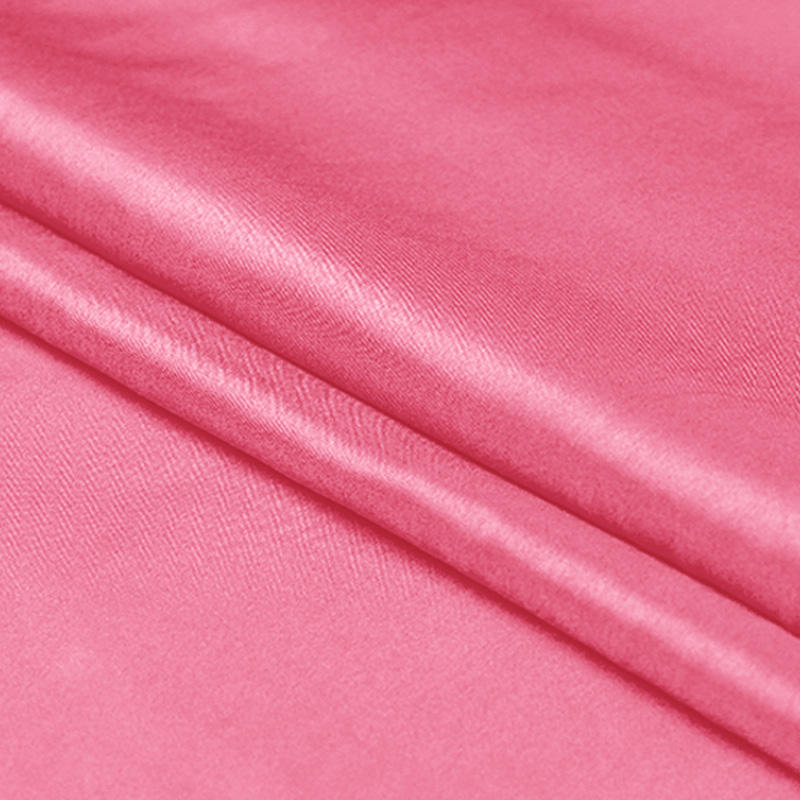Deep Pink Chinese Silk Habotai 8mm Fabric For Dress 100 Colors in Stock by Xinhe Textiles