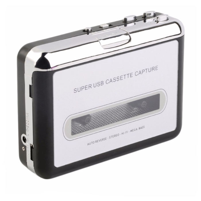 old retro portable national usb tape cassette to mp3 audio converter recorder deck player for ezcap