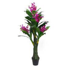 YD29329 Wholesale artificial flower tree cymbidium orchid artificial tree for wedding decor