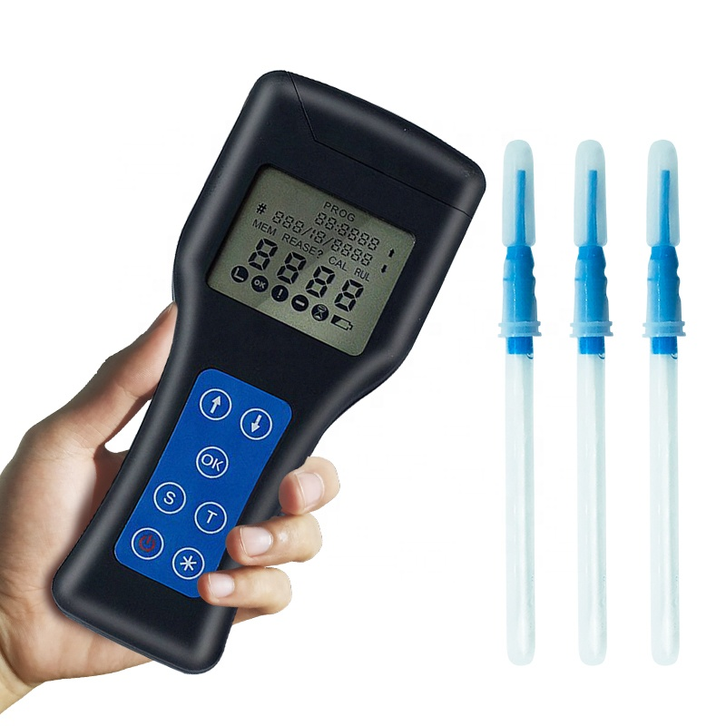 CE approval high quality portable ATP bacteria meter ATP machine testing swabs with accurate data