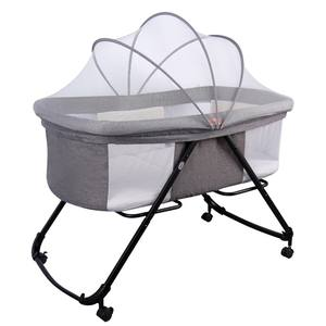 fashionable newborn cot mobile baby cradle portable folding baby bed