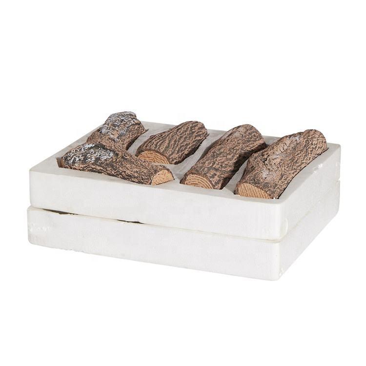 格安価格 Firepit セラミック木材ログセット