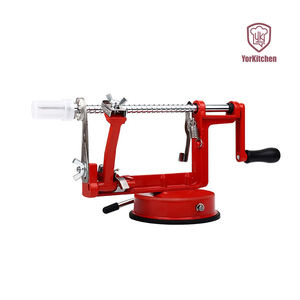 Apple Peeler dengan Hisap Dasar Stainless Steel Apple Peeler Slicer CUISIPRO