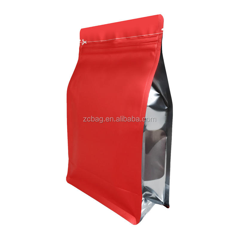 Japanese Blank Coffee Bag Almond Snack Boxpouch Flat Bottom Bag Coffee Packaging Kitchen Home Fried Pork Flakes Bags