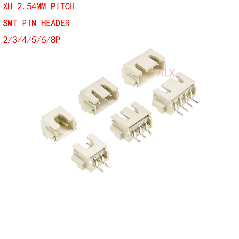 2P 3P 4P 5P 6P 8P 9P 10P 11P 12P 2.54mm KF2510 Conector Clavija recta