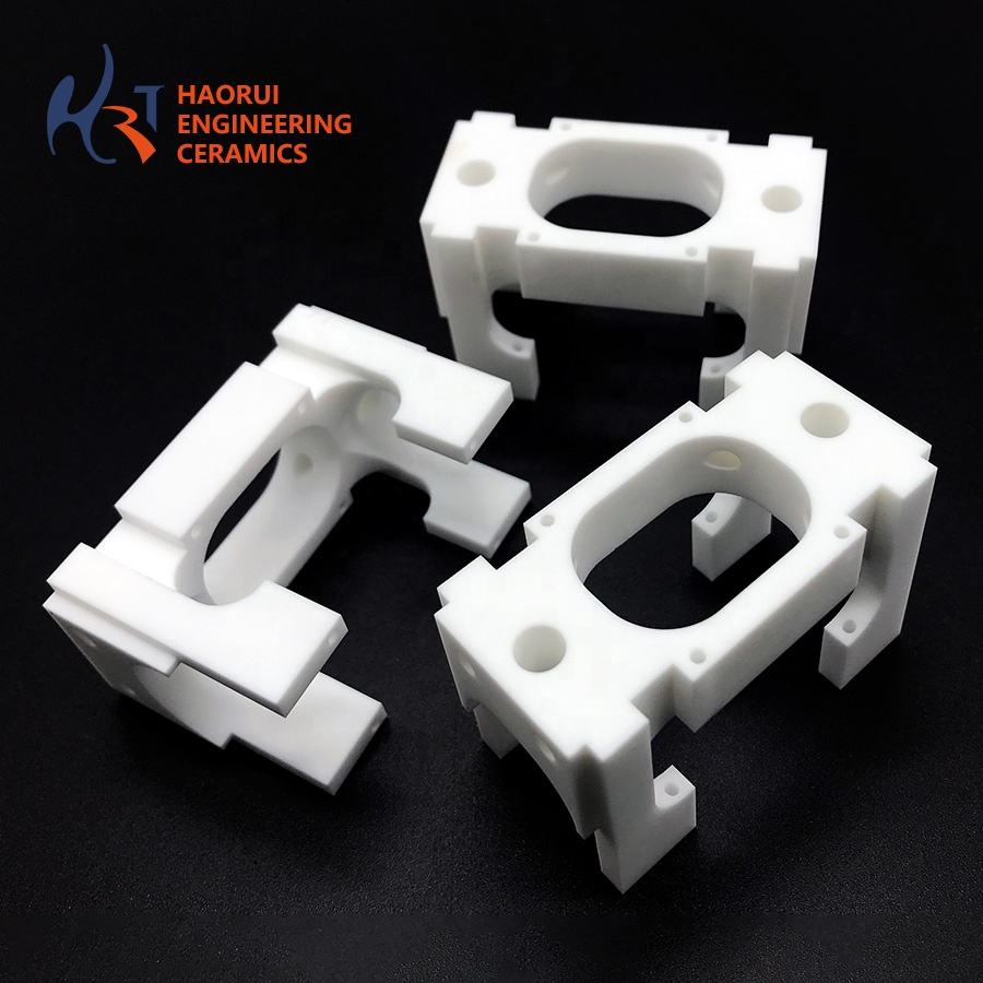 MACOR Machinable Glass Ceramic, Custom complex shaped ceramic parts, Wear and high temperature insulation