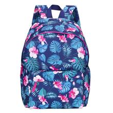 Floral Laptop Backpacks College Bags School Daypack