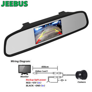 Factory Customized Backup Car 5 inch Digital TFT LCD Rear View Mirror Monitor