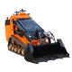 China CE approved professional minicargador cargador frontal machinery loader mini track skid steer for sale