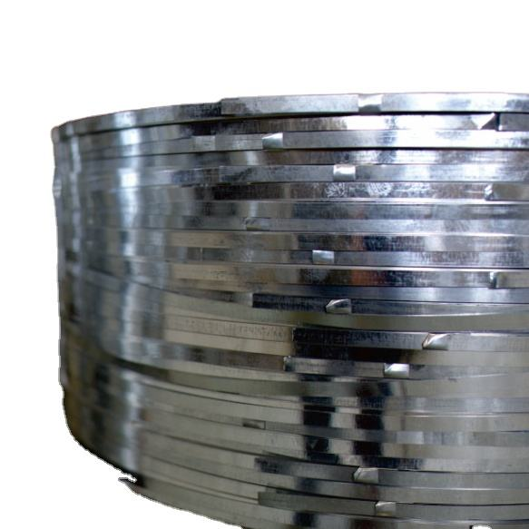 Width 8.6mm China Trade Assurance Manufacturer Hot Dipped Galvanized Steel Stripe Galvanized Strip