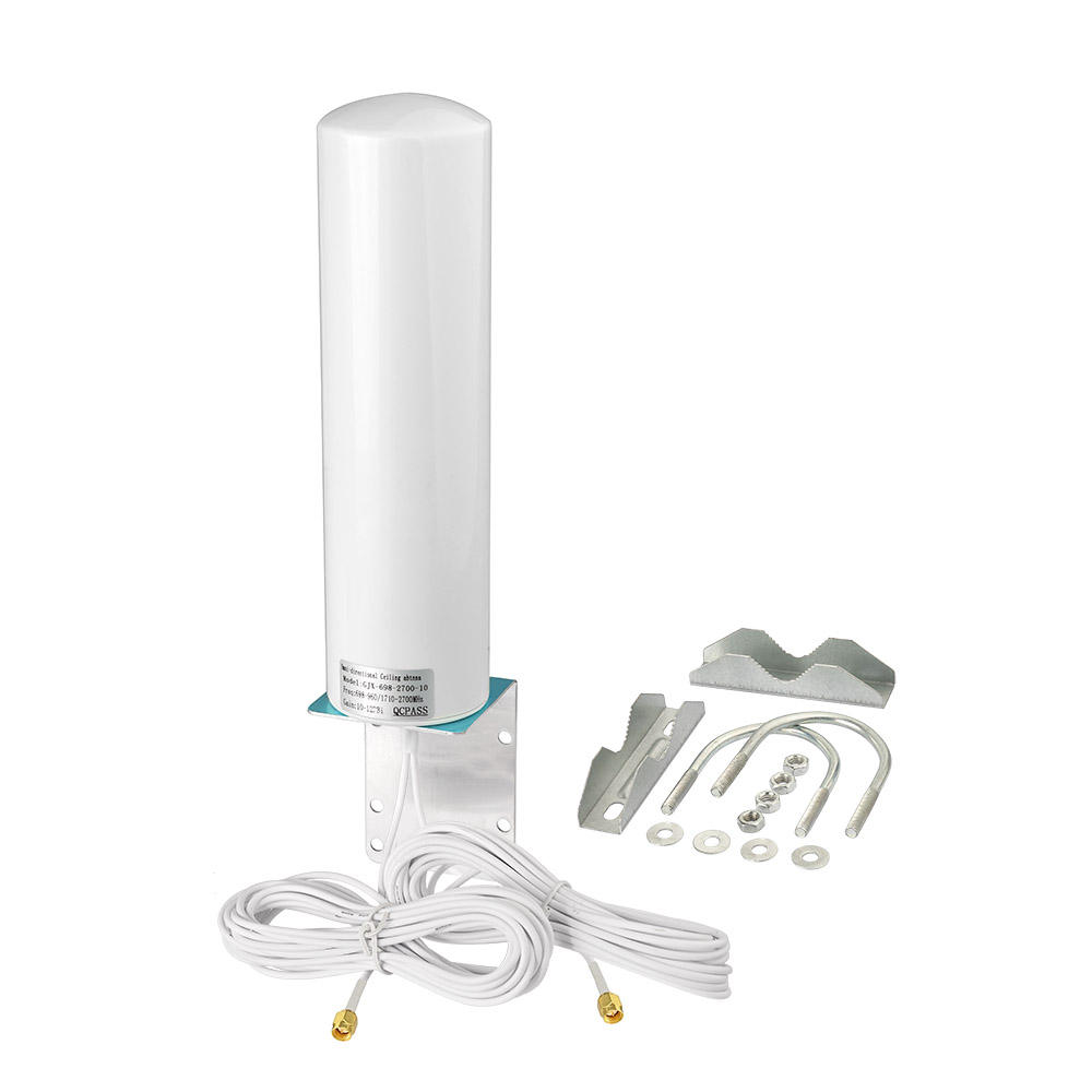 4G LTE Outdoor Antenna 698-2700MHz 12DBi Omni External Barrel Antenna Daul SMA for Verizon AT&T Sprint 4G LTE Router