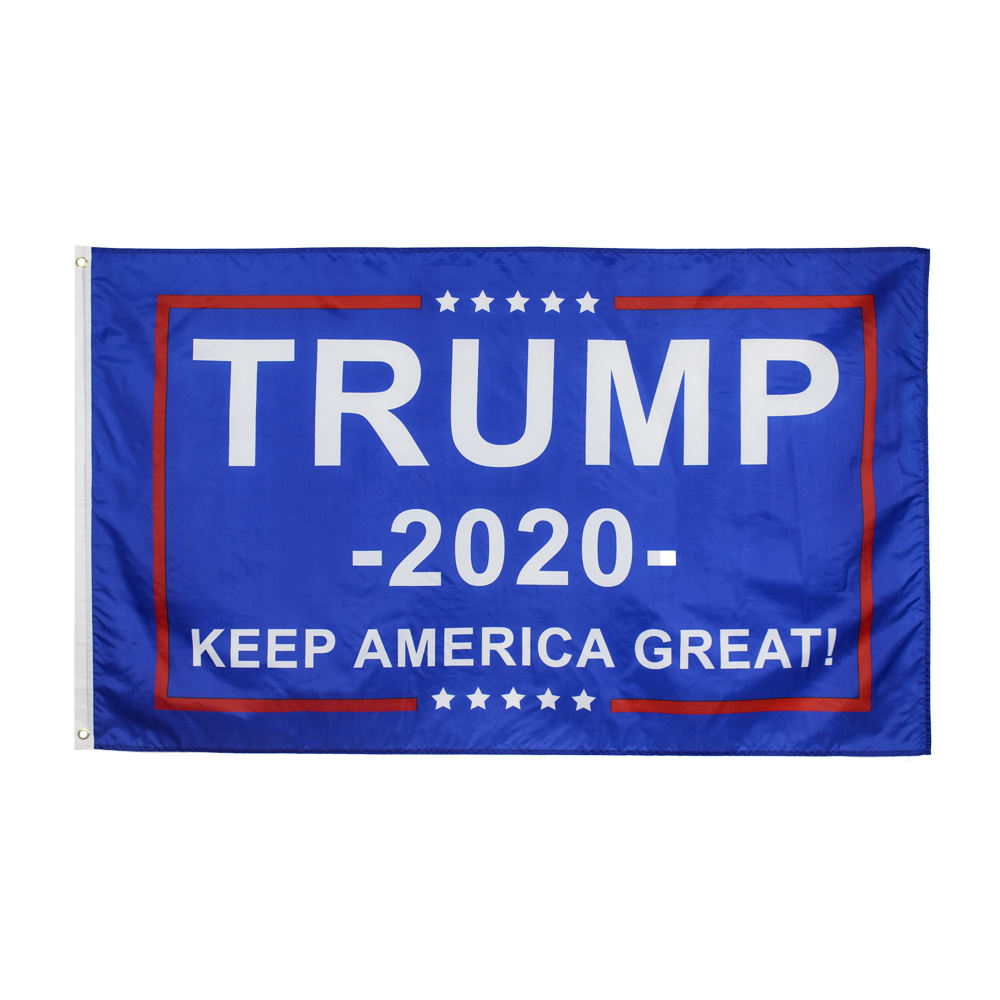 Wholesale 3X5 ft Stock Polyester Various Donald Trump 2020 Flag