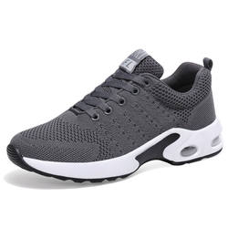 Custom high quality PU and mesh comfortable running shoes