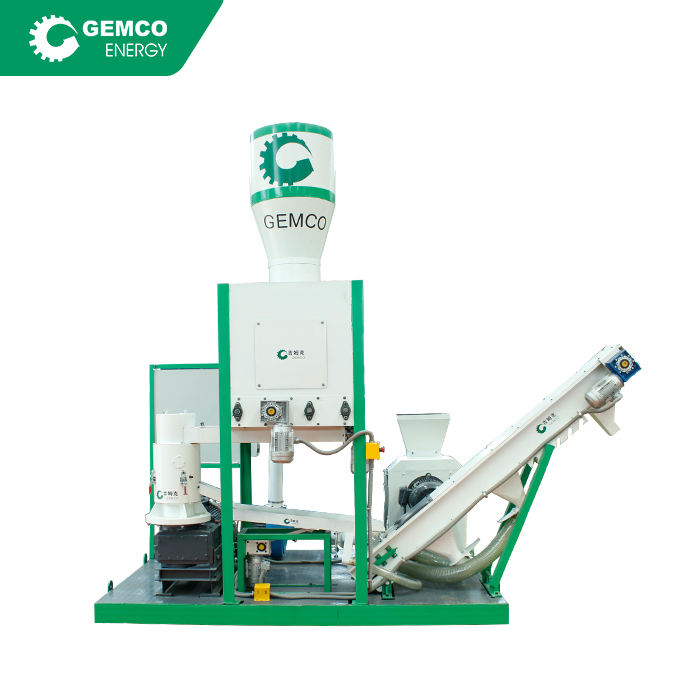 GEMCO Energy MPL300 Mobile Biomass Pellet Production Plant