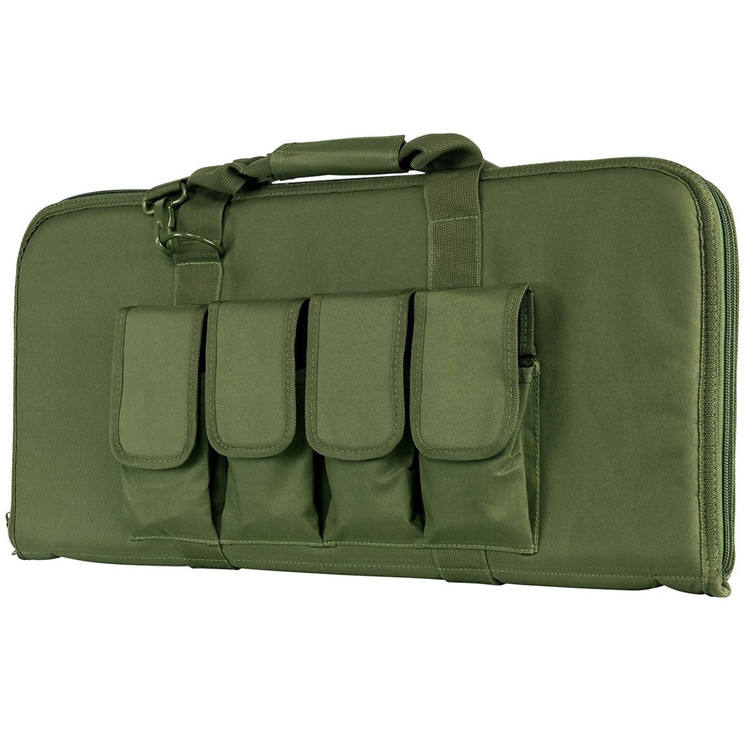 Pistol Subgun Heavy Duty Large Capacity Tactical Gun CaseためOutdoor