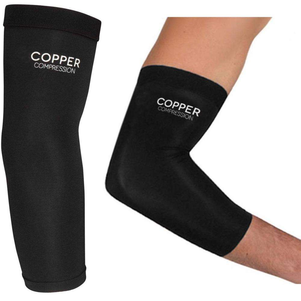 Manufacturer OEM & ODM High Copper Content Compression Recovery Elbow Sleeve Elbow Brace
