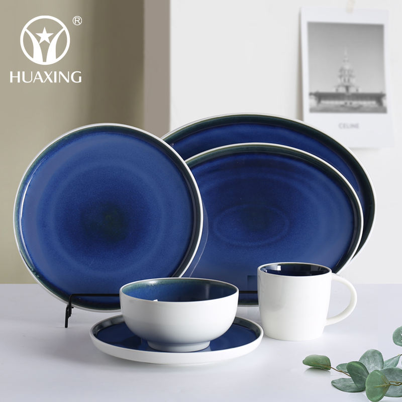 Ceramic Dishes Plate Set Wholesale China Factory Dinner Set Cheap Ceramic Plates Dishes Bowls Customized Mugs