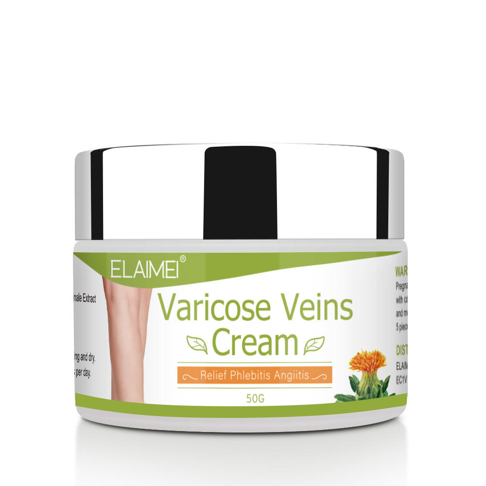 50g Varicose Vein Cream Fast Effective Natural Herbal Body Legs Varicose Veins Removal Treatment