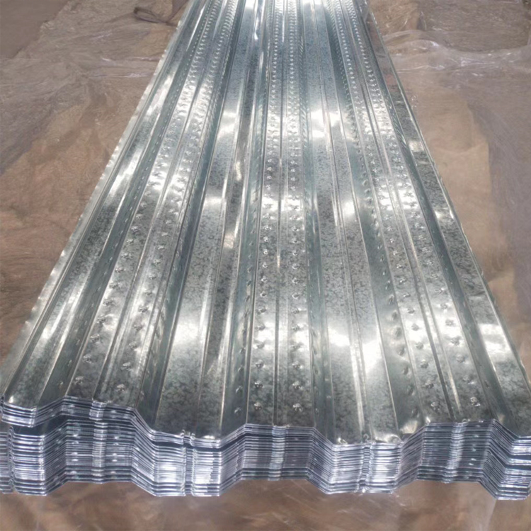 NX Floor bearing plate AZ150 galvanized metal floor support steel plate 0.15mm floor decking sheets for building materials