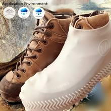 Manufacturer Wholesale Reusable Rain Snow Boot Shoe Covers Silicone Rubber Shoes Outdoor Protectors Overshoes