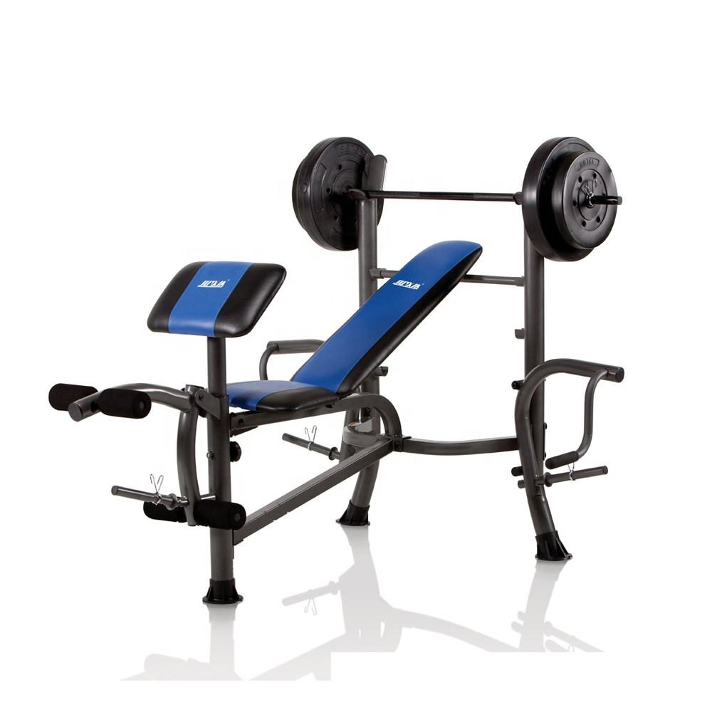 Plusx Body exercise Gym Pulley Multifunction Home Gym Fitness Equipment Weight Incline Bench Weight Bench