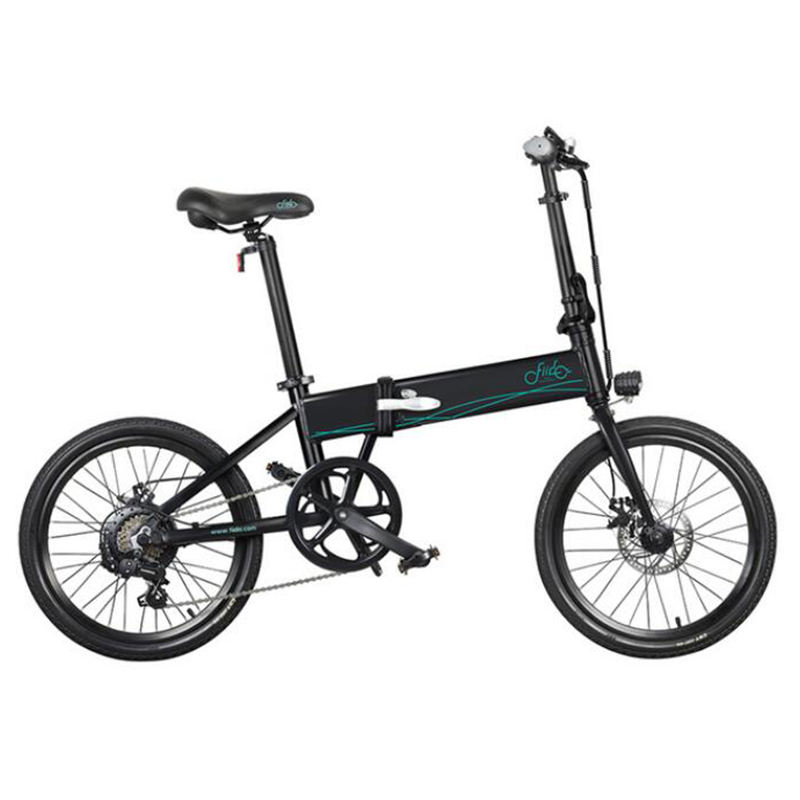[EU Direct] FIIDO D4S 10.4Ah 36V 250W 20 Inches Folding Fat Ebike Moped Bicycle 25km/h Top Speed 80KM Mileage Electric Bike