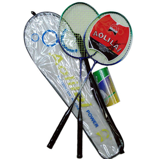 New Brand 27 inch Iron Professional Badminton Racket