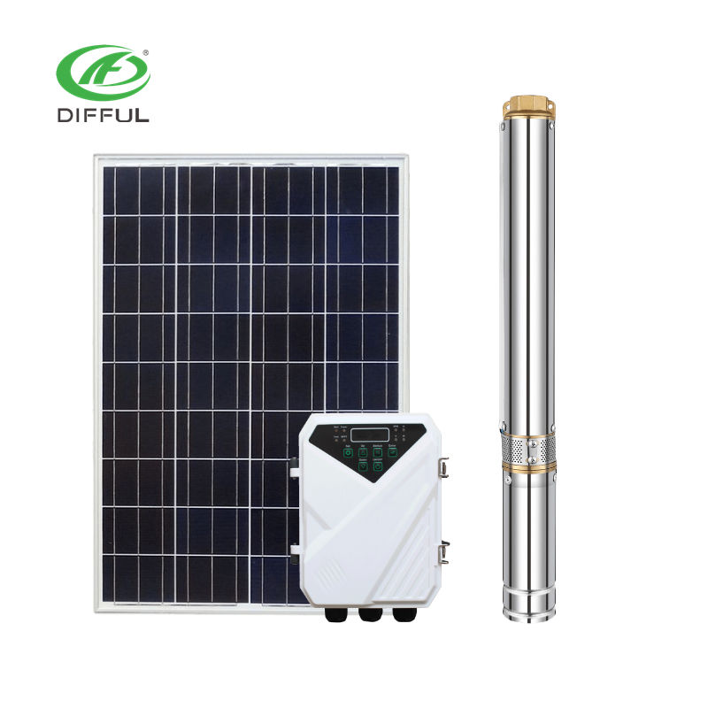 dc solar bore pump for underground water Solar pump system
