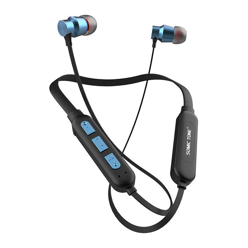 Sports Wireless Bluetooth in-Ear Headphones/Earbuds Hands Free Calls Pure Bass Sound Bluetooth Headphones Wireless