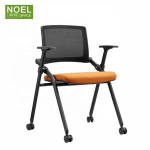 Approvisionnement direct d'usine de formation en nylon chaise de bureau pliante pliable