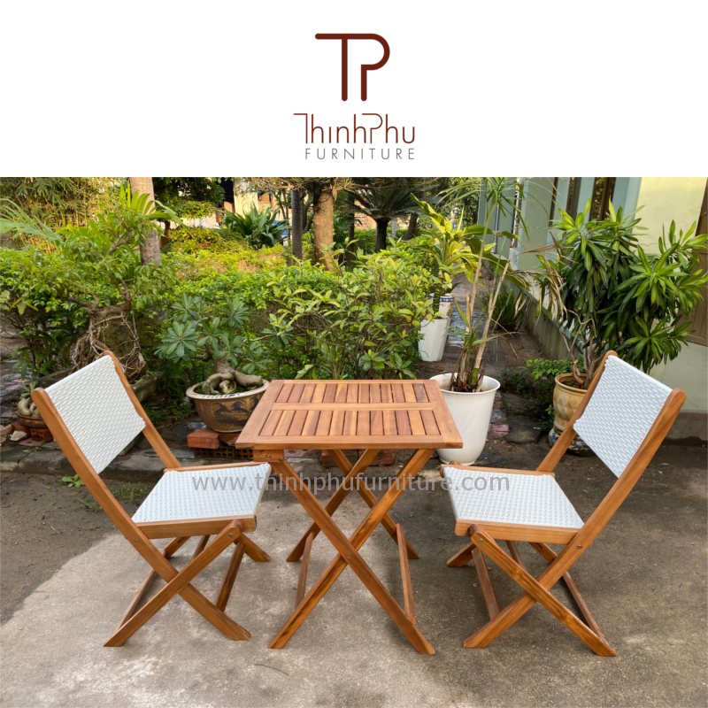 New Rattan Bistro Set - Garden Furniture - Rattan Furniture - Wicker Furniture