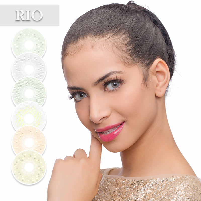 2020 Freshgo New Soft Contact Lenses RIO Parati Buzios Popular Colors with Natural Eye Effects for Wholesale