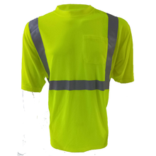 100% polyester  cheap safety reflective t-shirt