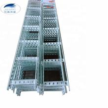 galvanized steel Marine Cable Ladder  trough machine hot dip galvanized vertical cable tray600mm-3000mm