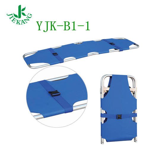 YJK_B1-1 Jiekang Chinese Local Fine used collapsible ambulance gurney dimensions for sale Folding Plastic Board Stretcher