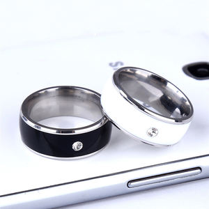 Customized Intelligent-ring Fashion Waterproof Smart Ring Bluetooth 125 KHz Wearable RFID NFC Smart Ring