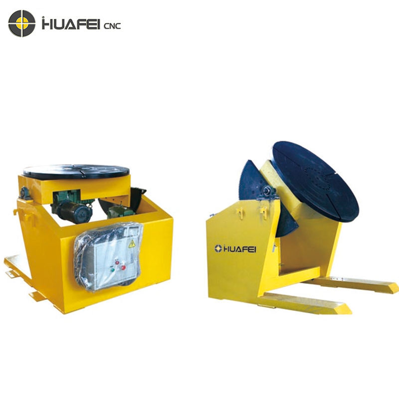 Automatic tilting turntable welding table welding positioner