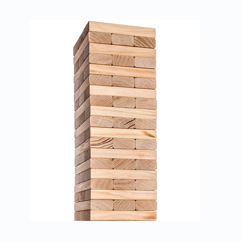 7.5X2.5X1.5 Cm Grenen <span class=keywords><strong>Hout</strong></span> Pieces Giant Tumble Tower 36 Blokken Spel Mini