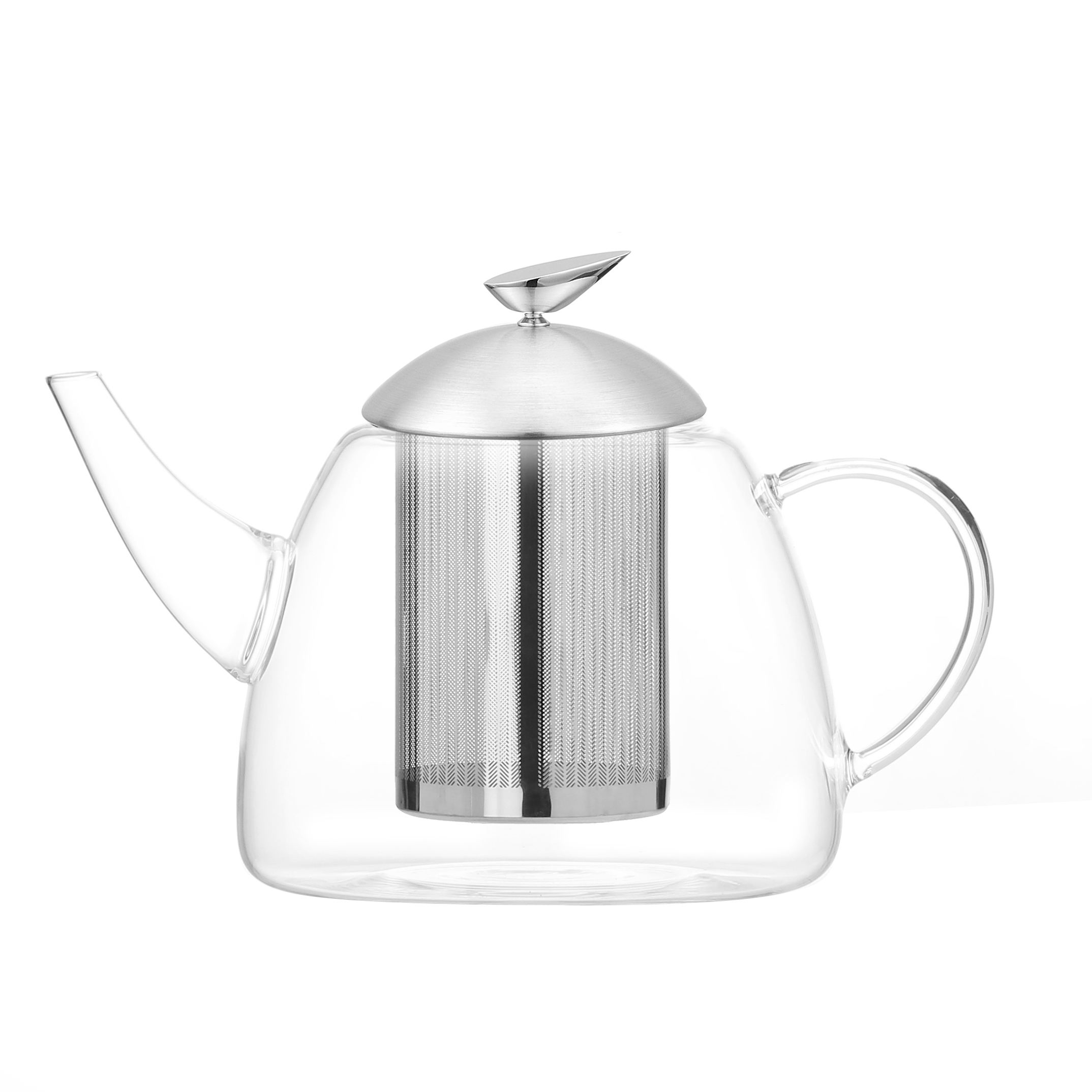 Borosilicate [ Pot Tea ] Tea Pot Glass High Borosilicate Glass Material High Pot Tea With Strainers