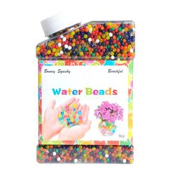 Cheapest square bottles water beads pack rainbow mix Jelly water growing balls funny toys